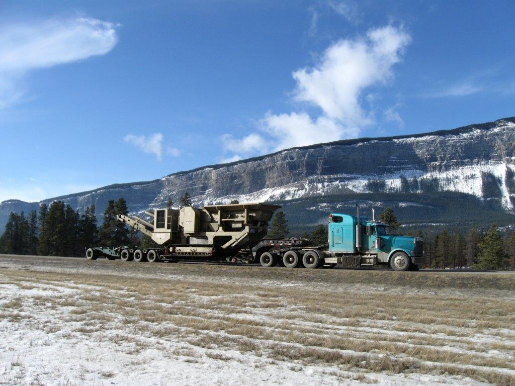 gravel-crusher-equipment-transport-alberta